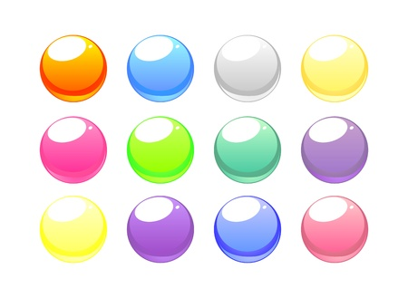 Web buttons collection Vector