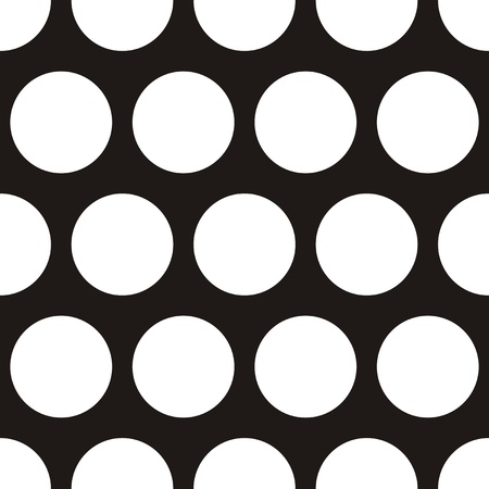 repetition row: Seamless dark vector pattern with big white polka dots on a black background  For desktop wallpaper, web design, cards, invitations, wedding or baby shower albums, backgrounds, arts and scrapbooks