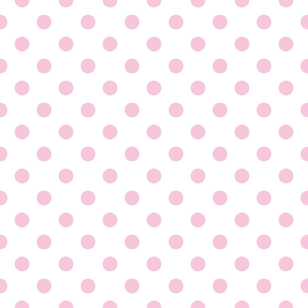 Seamless vector, pattern with pastel pink polka dots on a white background  For web design, desktop wallpaper cards, invitations, wedding or baby shower albums, backgrounds, arts and scrapbooks