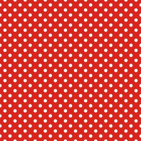 Retro szwu lub tekstury z białymi kropki na czerwonym tle na Boże Narodzenie tle, blog, projektowanie stron www, tapety na pulpit, notatnik osoby lub zaproszenie baby shower i ślubne