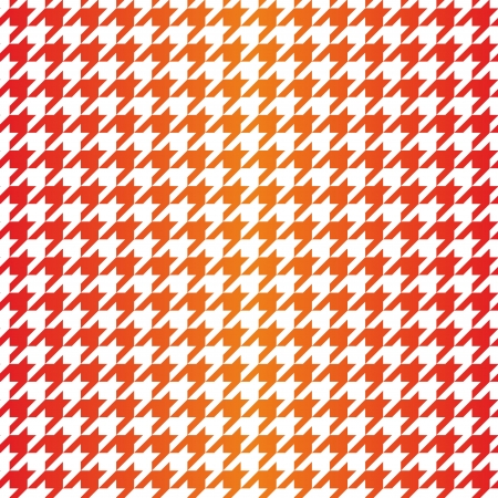 Houndstooth seamless vector gradient pattern  Traditional Scottish plaid fabric for colorful gradient website background or desktop wallpaper in red, pink, orange and yellow color  Vector
