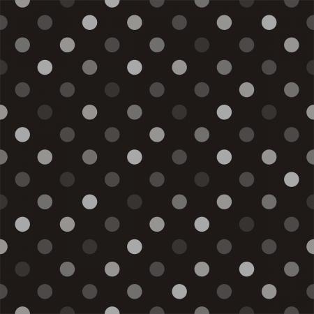 grey backgrounds: Patr�n de vectores sin fisuras con los lunares coloridos de color beige, marr�n y gris sobre un fondo negro para sitios web, dise�o web, fondo de escritorio, el blog de fondo, el arte y los libros de recuerdos