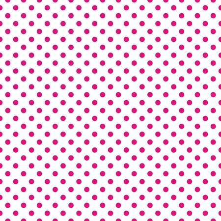 Naadloze vector patroon met donkere pastel roze stippen op een witte achtergrond voor kaarten, uitnodigingen, bruiloft of baby shower albums, achtergronden, behang, decoratie, kunst en plakboeken