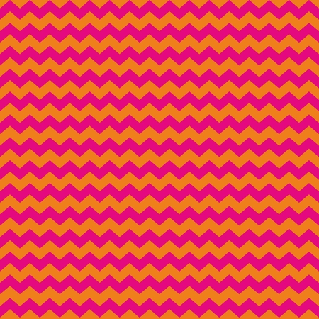 Chevron seamless vector pattern or tile background with zig zag red or purple pink and orange stripes on white background  Kids background, desktop wallpaper or website design element Vector