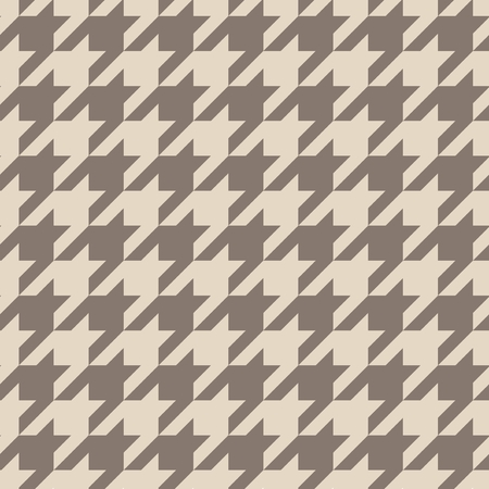 Houndstooth seamless vector pastel brown pattern or background  Traditional Scottish tartan plaid fabric collection for website background or desktop wallpaper  Vector