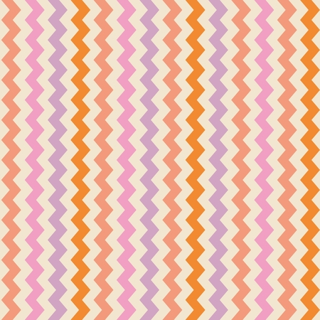 Chevron seamless colorful pattern or tile background  Vector