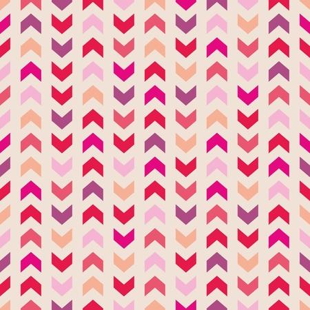 violet red: Aztec Chevron seamless vector colorful pattern, texture or background with zigzag stripes  Pink, violet, orange and red background, desktop wallpaper or website design element