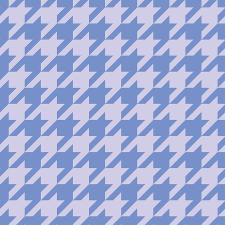 tweed: Houndstooth vector seamless blue pattern set  Tweed fashion background with retro pastel tartan woven for desktop wallpaper or website design