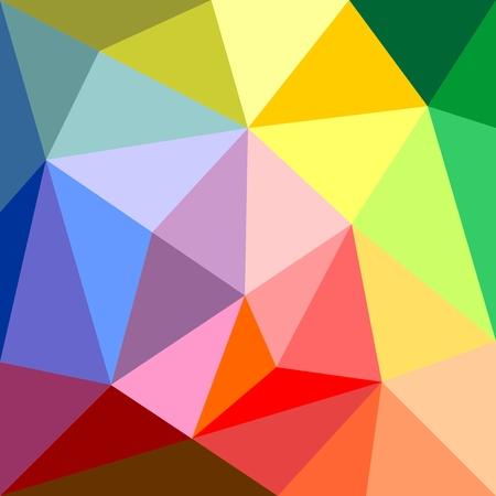 verde y morado: Tri�ngulo de fondo vector o amarillo, naranja, rosa, violeta, verde, morado y azul marino oscuro azul del modelo de superficie plana envolver mosaico geom�trico