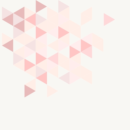 herringbone background: Pink, grey and violet triangle modern vector background  Geometric mosaic document template   Illustration
