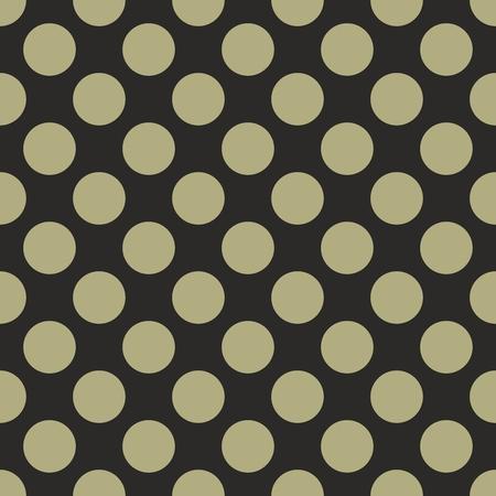 Black vector tile background with green polka dots  Seamless pattern for halloween desktop wallpaper and website design  Vector