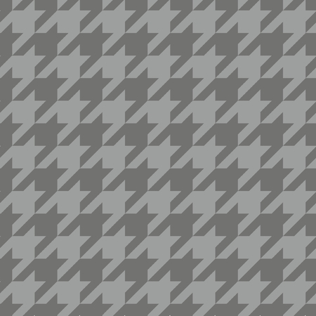 Houndstooth tile vector pattern  Traditional Scottish plaid fabric collection for website seamless background or desktop wallpaper in dark navy blue and grey color  Vector