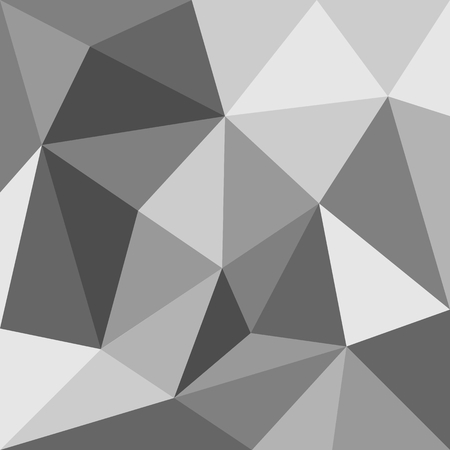 gray texture background: Grey triangle vector background or seamless pattern. Geometric mosaic card document template. Hipster flat surface design aztec chevron zig zag print. Illustration