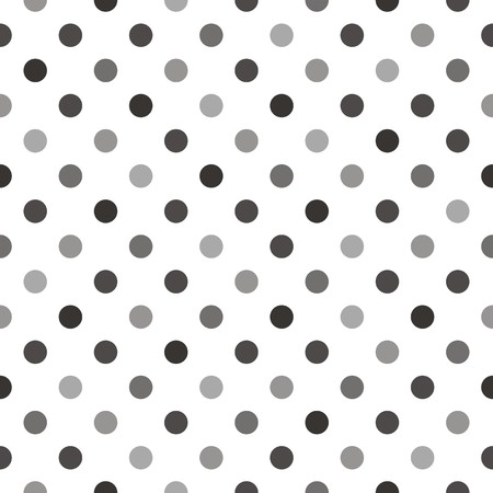 tint: Seamless vector pattern with beige, brown and grey colorful polka dots on white background. For website, web design, desktop wallpaper, blog background, arts and scrapbooks.