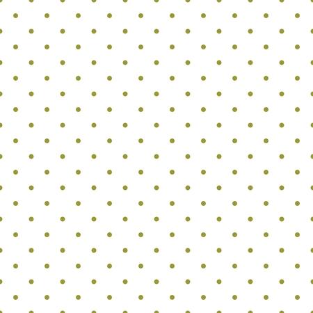 Tegel vector patroon met groene stippen op een witte achtergrond voor decoratie wallpaper
