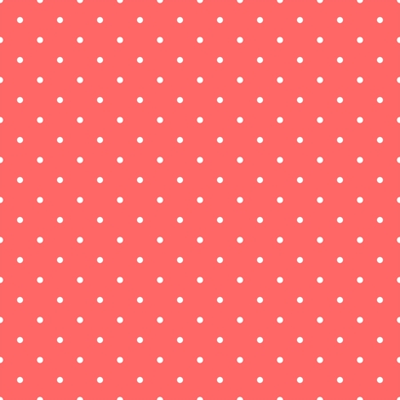 pastel backgrounds: Seamless vector pattern with white polka dots on a sweet pastel pink background. For web design, blog, desktop wallpaper, cards, invitations, wedding or baby shower albums, backgrounds, arts and scrapbooks