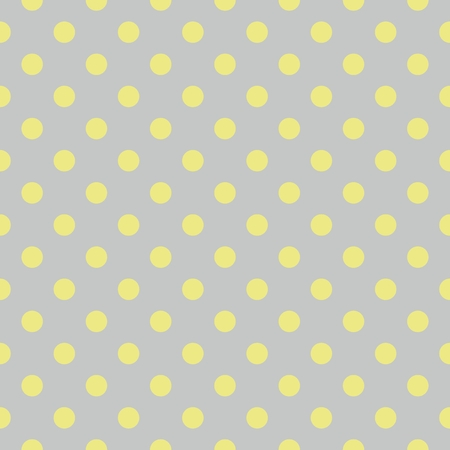 ditch: Tile vector pattern with green polkadots on gray blue background Illustration