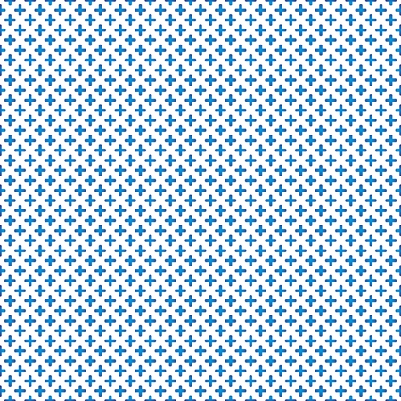 tile background: Tile blue and white vector background