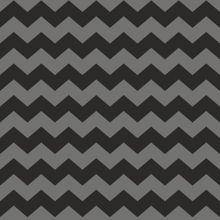 zig: Zig zag chevron black and gray tile vector pattern