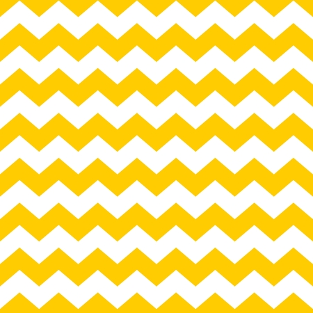 Tile chevron vector pattern with yellow and white zig zag background Reklamní fotografie - 45662107