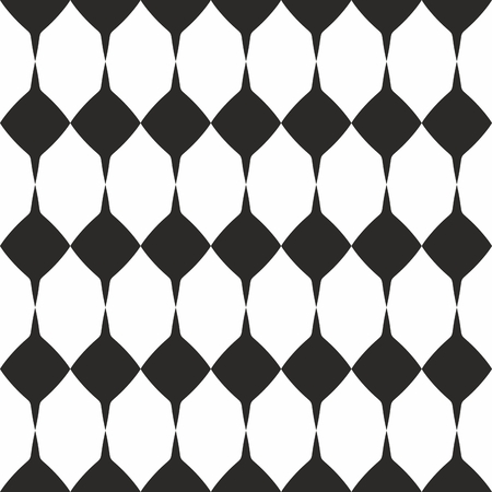 Tile vector black and white pattern or website background
