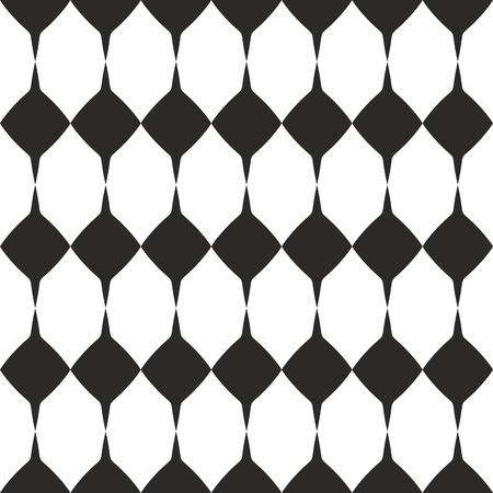 Tegel vector zwart-wit patroon of website achtergrond