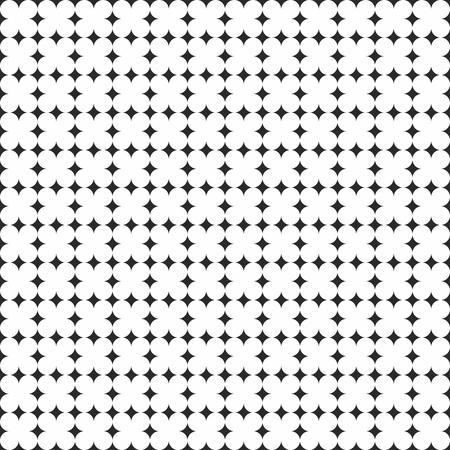white tile: Tile black and white vector pattern
