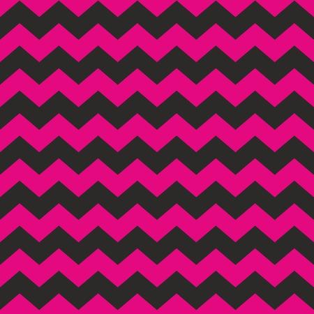 rosa negra: negro y rosa del modelo del azulejo del zigzag del galón