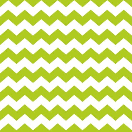 zig: Zig zag chevron green and white tile vector pattern