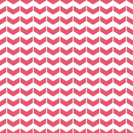 patterns vector: Tile vector pattern with pink arrows on white background