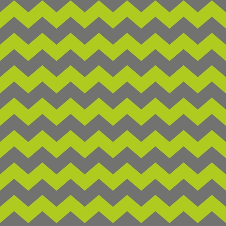 zag: Zig zag chevron green and gray tile vector pattern Illustration