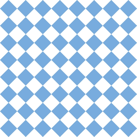 black stone: Checkered tile vector pattern or blue and white wallpaper background Illustration
