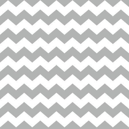 Tegel vector patroon met witte en grijze zig-zag achtergrond