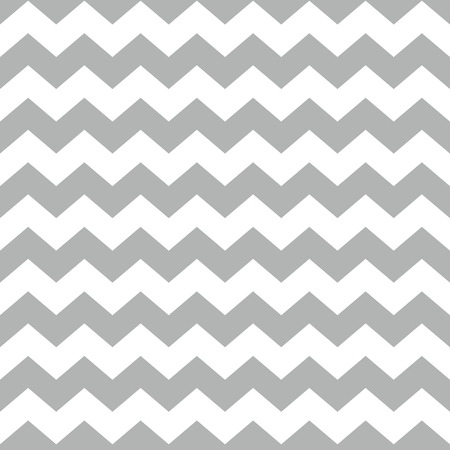 Tile vector pattern with white and grey zig zag background