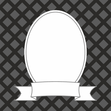 Photo vector frame on black and grey background