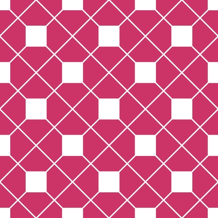 tile background: Checkered tile vector pattern or pink and white wallpaper background