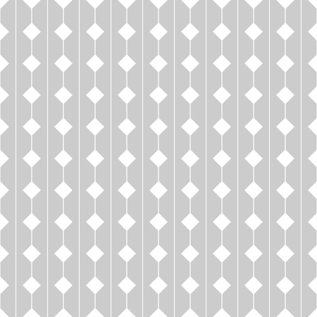 Vector tile pattern with gray and white seamless background