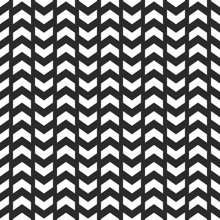 patterns vector: Tile vector pattern with white arrows on black background