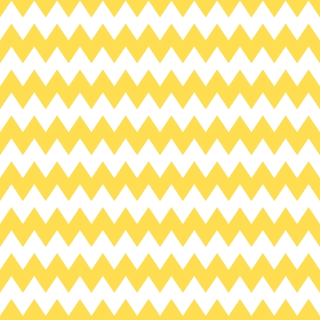 yellow vector: Tile chevron vector pattern with yellow and white zig zag background
