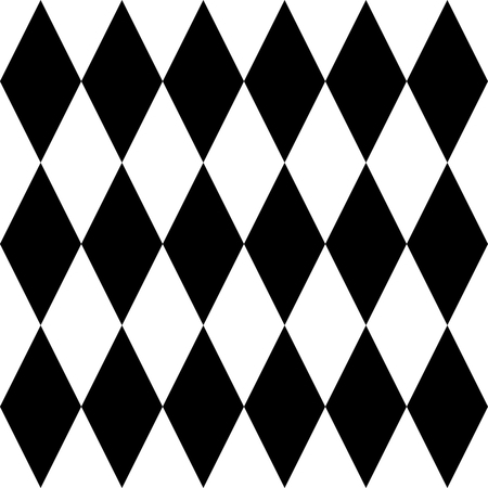 pierrot: Tile black and white vector pattern or website background