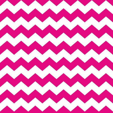 zig: Tile pastel vector pattern with white and pink zig zag background