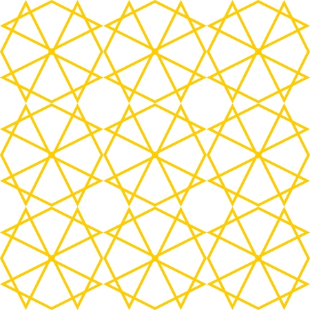white tile: Tile yellow and white vector pattern Illustration