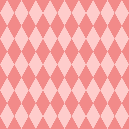 pierrot: Pink tile pattern Illustration