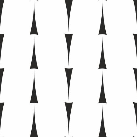 白地に黒矢印のタイル パターン