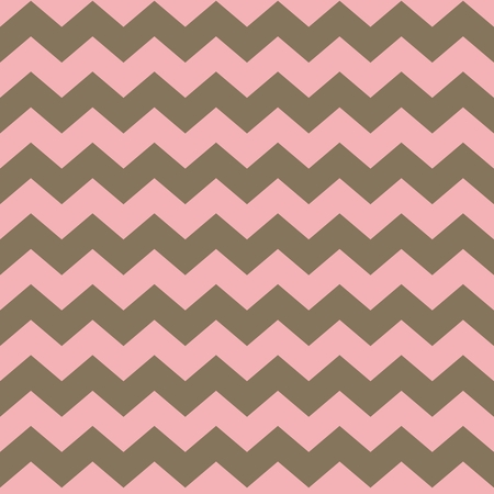 brown pattern: Tile pink and pastel brown pattern with zig zag background