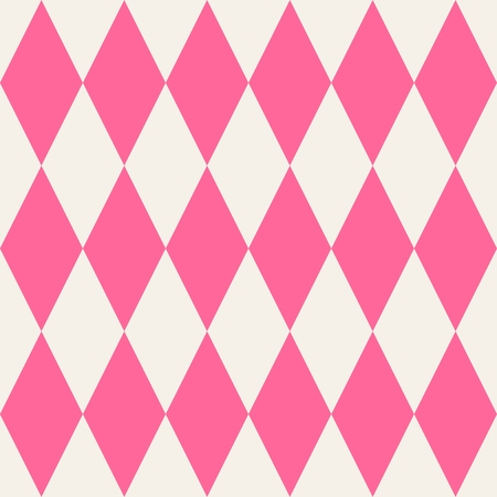 pierrot: Pink tile vector pattern