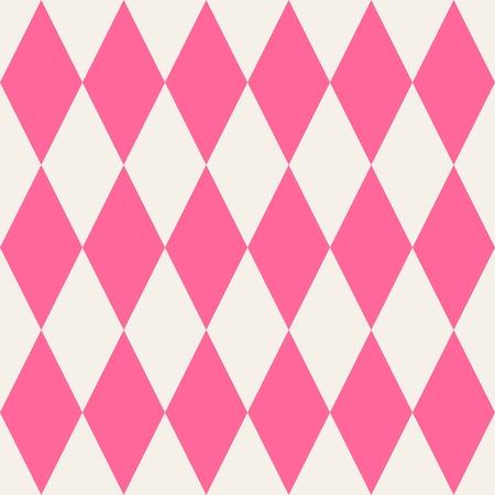 pierrot: Pink tile vector pattern