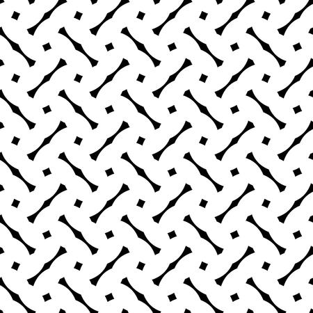 white tile: Tile black and white pattern Illustration