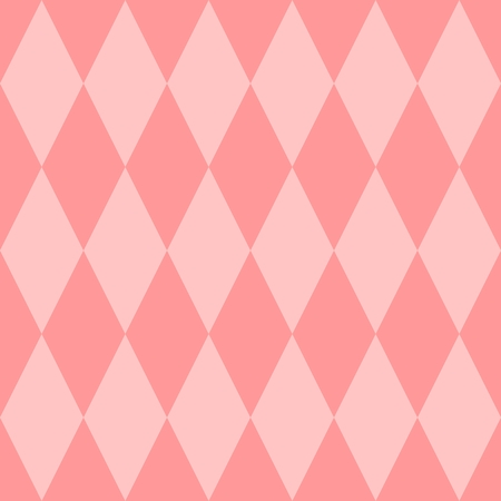 pierrot: Pink tile vector pattern for seamless decoration background wallpaper