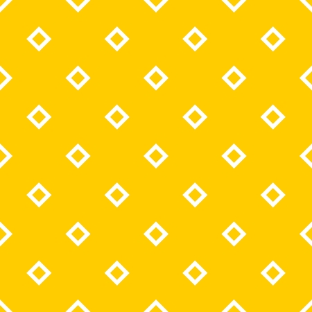 Tile yellow and white vector pattern for seamless decoration background wallpaper